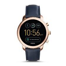 Fossil Hommes Smartwatch Q-eXplorist 3. génération Bracelet en Cuir Prix Recommandé 279 €