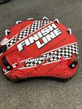 Airhead Finish Line 3 Persons Towable Tube Red (Used)