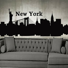 New York Wall Art City Decals Vinyl Decal Stickers Home Decor Interior LM215