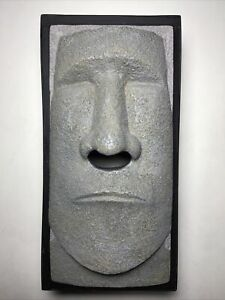Rotary Hero Inc. Novelty Tissue Box Holder/Dispenser - Easter Island/Tiki Face