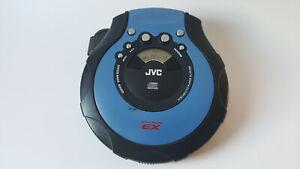 JVC XL-PG300A Portable CD Player HYPER-BASS SOUND Anti-Shock - Used Working