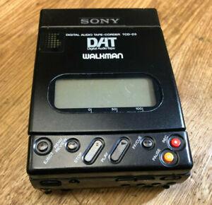 Sony Walkman DAT TCD-D3 Digital Audio Tape Recorder AS IS