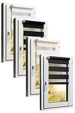 Fensterrollo Doppelrollo - Klemmfix ohne bohren - Farbe und Göße frei wählbar