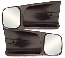 "2 CIPA Custom Towing Rearview Mirrors 4.5"" x 5.125"" for Chevy/GMC/Cadillac"
