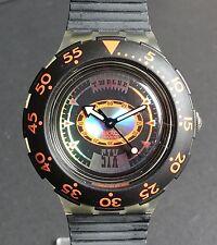 Swatch Scuba 200 sdk110 Tech diving-negro-nuevo ungetragen en OVP