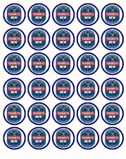 """30 TOOHEYS NEW BEER 1.5"""" (35mm) EDIBLE WAFER PAPER CUPCAKE TOPPERS #1"""
