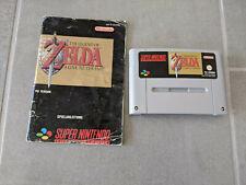 The Legend of Zelda / Super Nintendo / SNES / mit Anleitung / TOP