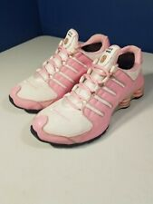 NIKE SHOX NZ WOMEN'S SIZE 10 PINK WITH CUSTOMIZED NAME ALISON