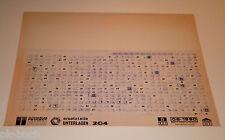 Microfich Ersatzteilkatalog Peugeot 204 - Stand 06/1990