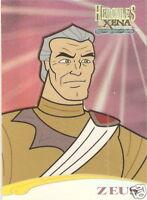 Hercules Xena C10 Peter Rowley as Zeus casting call insert trading card