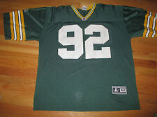 Vintage Starter REGGIE WHITE No. 92 GREEN BAY PACKERS (Size 52) Jersey
