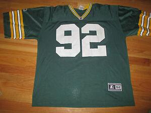 Vintage Starter REGGIE WHITE No. 92 GREEN BAY PACKERS (Size 52) Jersey