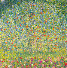 "Apple Tree  by Gustav Klimt- 20""x20"" Canvas Art"