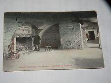 vintage POSTCARD KITCHEN CHATEAU DE RAMESAY MONTREAL CANADA Ramezay