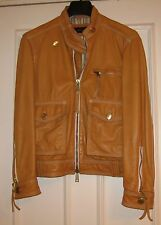 DSQUARED 2 MENS LEATHER JACKET