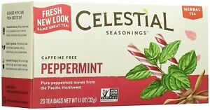 Peppermint Tea by Celestial Seasonings, 20 1 Box