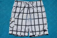 Hurley BOARDSHORTS Quality Surfwear. Size 36. GR8 Cond. Black/White Check