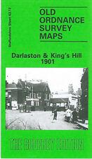 OLD ORDNANCE SURVEY MAP SEDGLEY WEST 1938 GOSPEL END COTWALL END SANDYFIELDS
