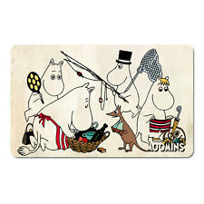 MOOMINS FISHING BREAKFAST CUTTING BOARD FORMICA MAT MOOMINTROLL PAPA MAMA FILM