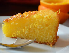 ORANGE HONEY POUND CAKE PIE SUGAR FREE GLUTEN FREE BAKING DESSERT COOKING
