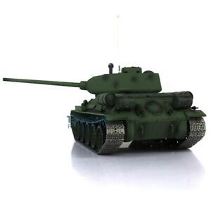 Henglong 1/16 Scale 7.0 Upgraded Soviet T34-85 RTR RC Tank 3909 Metal Tracks