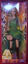 Mattel Award Winning International Super Star Shakira Tamborine Barbie NRFB