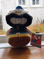 "New Popeye the Sailorman Bluto Brutus Plush 9"" Kellytoy Sugar Loaf Stuffed"