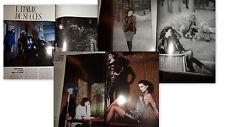 Vtg clippings Gianni Versace Krizia by Guy Bourdin French Vogue Paris elle 1987
