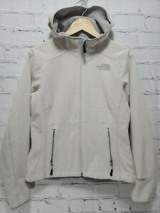 The North Face Wind Wall Fleece Jacket Cream Size Small S SM,     A63