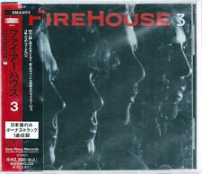 Firehouse 3 +1 Japan CD w/obi ESCA-6173