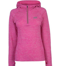 Sketchers Womens Pink Hooded Jumper Uk Size XS