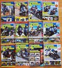 Tourenfahrer 2017 komplett 1-12 Motorrad Reisen Test Technik Jahr Zeitschrift
