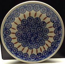 "1 Boleslawiec Polish Pottery Dinner Plate 10.5"""