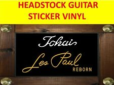 TOKA WHITE HEADSTOCK LES PAUL REBORN GOLD VISIT OUR STORE WITH MANY MORE MODELS
