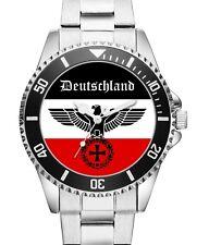 Flagge Deutsches Reich Deutschland Meine Heimat Reichsadler Uhr 2740
