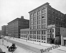 Photograph Vintage Eastman Kodak Building State Street Rochester N.Y.1905c  8x10