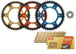 Supersprox Front & Stealth Rear Sprocket & DID ERVT X-Ring Chain for KTM Husky