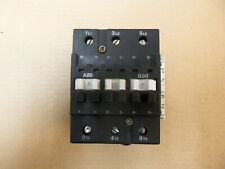 Abb B50 Contactor 600v 3phase 50 Hp 65 Amp With Aux Contact Cal7 11 120v 60hz Coil
