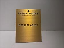 ULTRA RARE VACHERON CONSTANTIN DEALER DISPLAY OFFICIAL AGENT