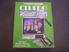 Cluedo The Great Video Detective Game 1986 Pioneer Vintage VCR Interactive Game