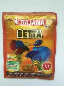 Dajana Betta flake mix - food for fighting fish - 80ml / 13g sachet - BBE 1/2022