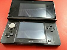 Cosmo Black Nintendo 3DS System Console [System w/ Stylet Only] Tested & Works