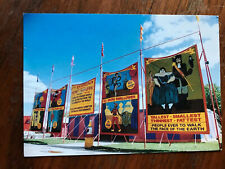 P. T. Barnum's Circus Side Show Banners Postcard Circus World Museum, Baraboo WI