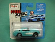 maisto fresh metal 57 chevy corvette