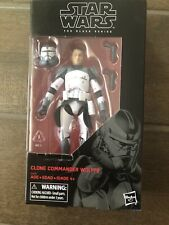 Star Wars Black Series Clone Commander Wolf New In Box