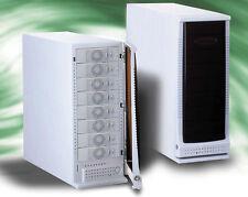 """SCSI Gehäuse 8x 5.25"""" 8fach Tower MAPOWER C5811 300W Netzteil *NAGELNEU*"""