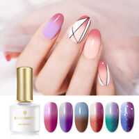 BORN PRETTY 6ml UV Gel Nail Polish Thermal Color Changing Soak Off Gel Varnish