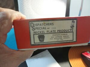 A VINTAGE & ORIGINAL HO BRASS DISPATCHER SPECIAL FROM NKP PRODUCTS, PRR EXP REEF