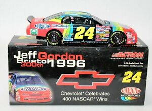 Jeff Gordon 1996 #24 DuPont Chevy 400 Win Monte Carlo 1:24 Action Limited /6996