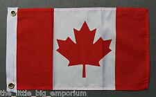 Canadian Flag Small Size New Polyester Canada Maple Leaf